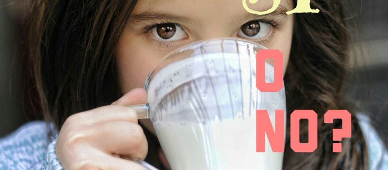 ¿Lácteos sí o no?