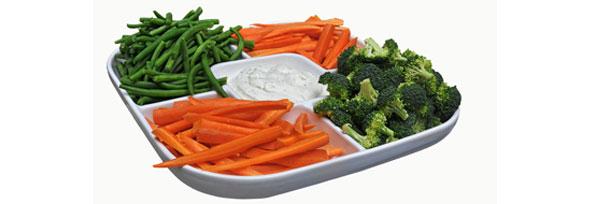 Los menús escolares tienen poca fruta y legumbres y exceso de pasta, carne y patatas