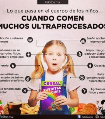 Niños y ultraprocesados