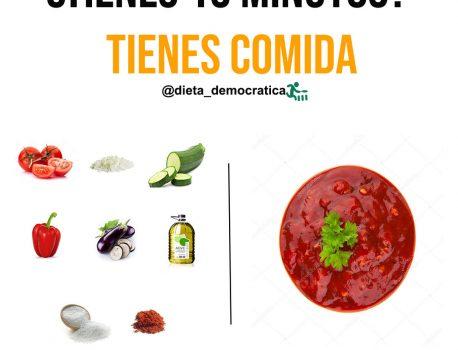 Receta para preparar salsa saludable en 15 minutos