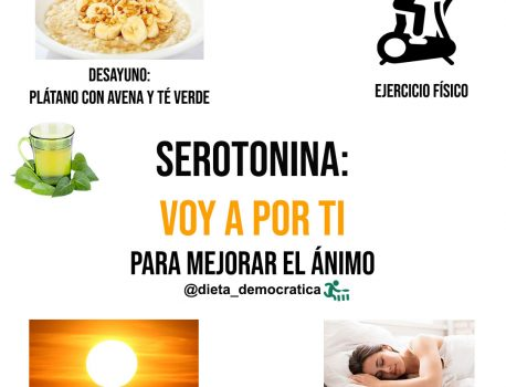Serotonina para mejorar tu animo