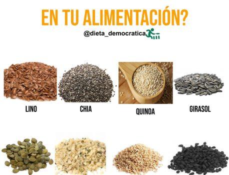 ¿Cómo utilizar las semillas en tu alimentación?